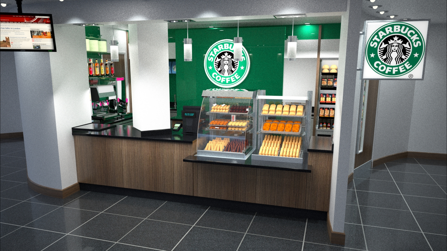 STARBUCKS LIVERPOOL WOMENS HOSPITAL