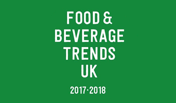 2018 FOOD AND DRINK TRENDS